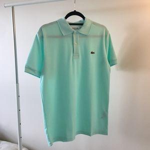 Lacoste Men's Polo Mint Regular Fit Size 6, Large